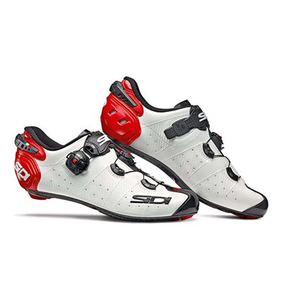 Shoes Sidi Wire 2 Carbon white black red