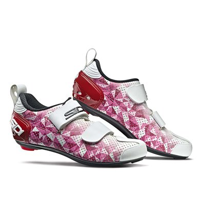 Shoes Sidi T5 Air Carbon pink red white women