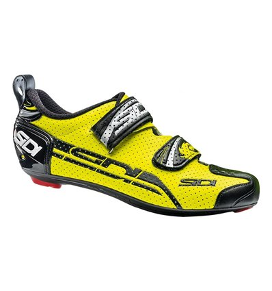 Shoes Sidi T4 Air Carbon yellow fluor black