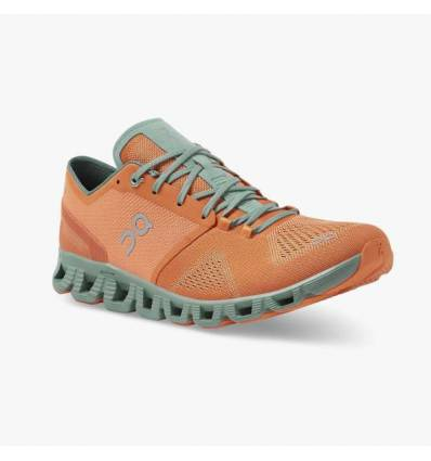 ZAPATILLAS ON CLOUD X NIAGARA & LIME PARA MUJER - ON RUNNING