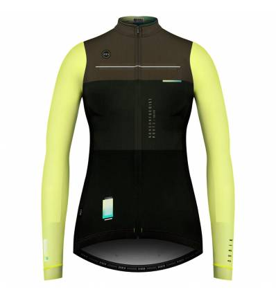 WOMAN LONG SLEEVE COBBLE ACID JERSEY - GOBIK