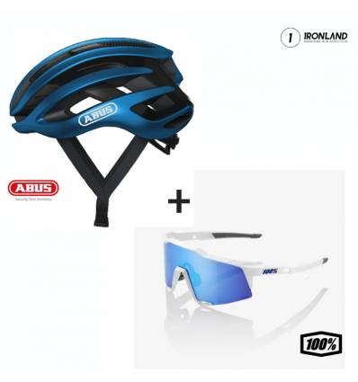 CYCLING PACK - AIRBREAKER HELMET + SPEEDCRAFT GLASSES