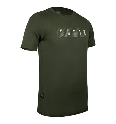 CAMISETA MANGA CORTA HOMBRE AFTER RIDE OVERLINES ARMY - GOBIK