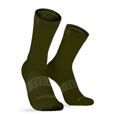 CALCETINES UNISEX PURE ARMY - GOBIK