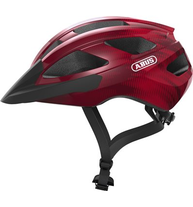 CASCO MACATOR BORDEAUX RED - ABUS