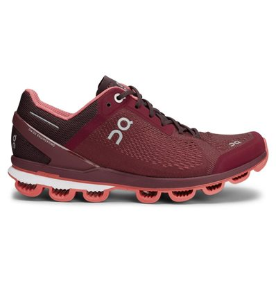 ZAPATILLAS ON CLOUDSURFER MULBERRY CORAL MUJER - ON RUNNING