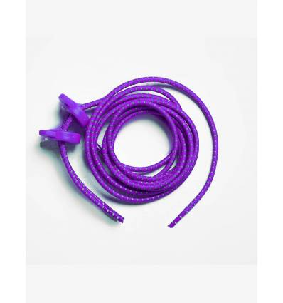 Accesorio Carrera Elastic Laces - Purple Unisex