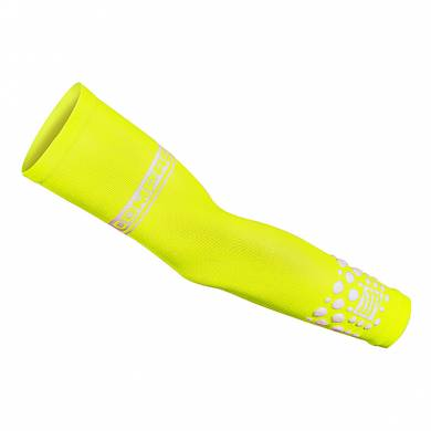 MANGUITOS COMPRESIÓN ARM FORCE FLUO AMARILLO - COMPRESSPORT
