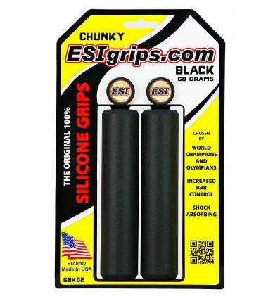 Puños ESIGrips CHUNKY color NEGRO
