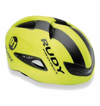 CASCO RUDY PROJECT BOOST1 YELLOW FLOU - BLACK MATTE