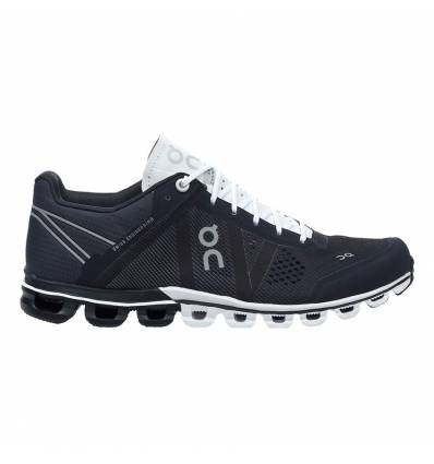 ZAPATILLAS ON CLOUDFLOW BLACK & WHITE MUJER - ON RUNNING
