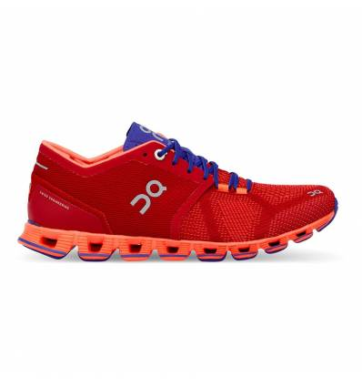 ZAPATILLAS ON CLOUD X RED & FLASH PARA MUJER - ON RUNNING