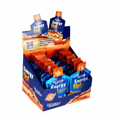 ENERGY UP GEL ORANGE 24 x 40 G - VICTORY ENDURANCE