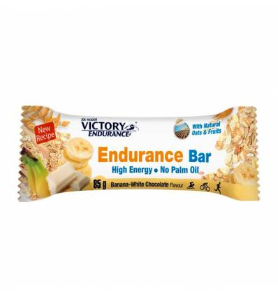 ENDURANCE BAR BANANA WHITE CHOCOLATE 12 x 85 G - VICTORY ENDURANCE