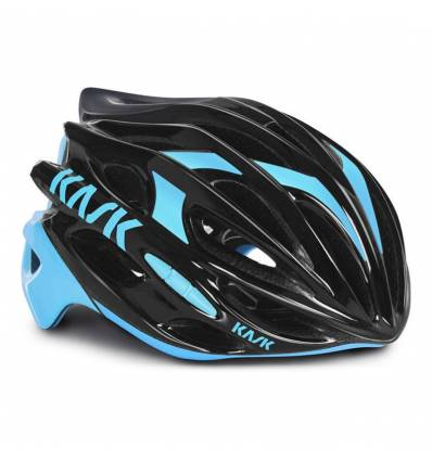 CASCO MOJITO BLACK LIGHT BLUE - KASK