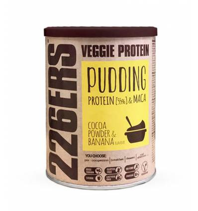VEGGIE PROTEIN PUDDING COCOA POWDER & BANANA - 226ERS