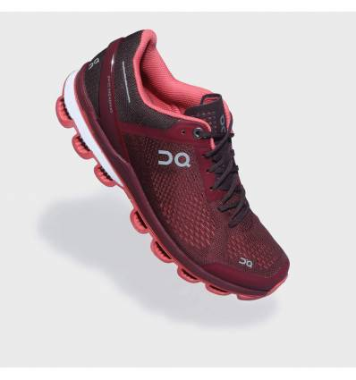 ZAPATILLAS ON CLOUDSURFER MULBERRY & CORAL PARA MUJER - ON RUNNING