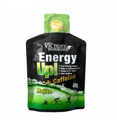 Energy Up Gel + Cafeina Cola (24 x 40 g.)