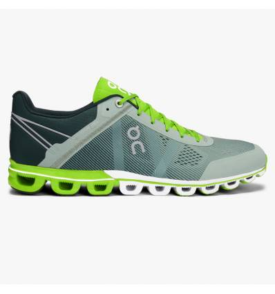 ZAPATILLAS ON CLOUDFLOW MOSS LIME HOMBRE - ON RUNNING