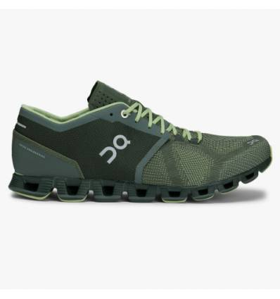 ZAPATILLAS ON CLOUD X FOREST & JUNGLE HOMBRE - ON RUNNING